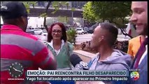 Reencontro emocionante ao vivo no SBT - Primeiro Impacto com Marcão do Povo (27/06/2019) (10h16) | SBT 2019