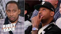 Carmelo Anthony doesn't deserve a farewell tour – Stephen A. - First Take