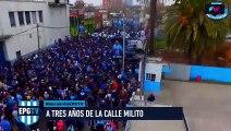 A 3 años de la inauguración de  Calle Diego Milito