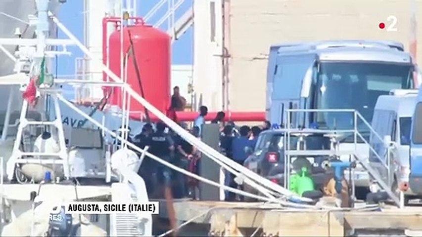 Migrants bloqués en Sicile : six pays européens ont signé un accord