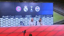 Reaction following Real Madrid's 5-3 win over  Fenerbahce in Audi Cup 3rd place match