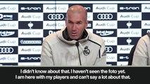 "(Subtitled) ""Bale playing golf? I hope he has trained"" Zidane"