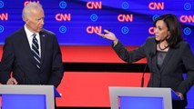 Joe Biden and Kamala Harris spar on health care during 2nd night of Democratic debate