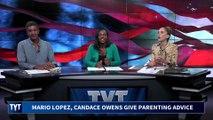 Mario Lopez Falls Into Candice Owens' Trap