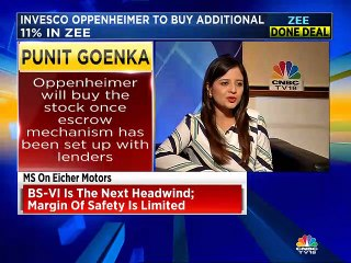 Oppenheimer will buy the stock once escrow mechanism has been set up