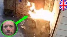 現世報!歧視猶太會堂縱火燒 自己反遭爆炸噴飛燒傷