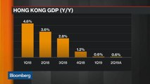 Hong Kong Economy Takes Hit From Trade, Protests