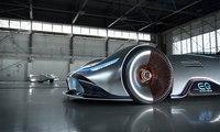 تصميم سيارة مرسيدس EQ سيلفر آرو يخطف الأنفاس... الماضي بلمسة مستقبلية