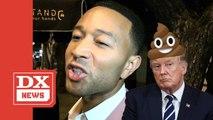 """John Legend Straight Up Calls Donald Trump """"A Piece Of Crap"""""""