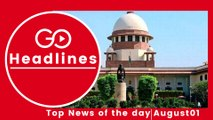 Top News Headlines of the Hour (1 Aug, 12:45 PM)