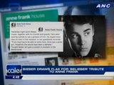 Bieber draws flak for 'Belieber' tribute to Anne Frank