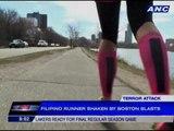 Filipino cyclist witnesses 9/11, Boston marathon bombing