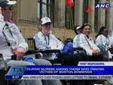 Filipino nurses among those who treated victims of Boston bombings