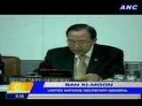 UN chief Ban Ki-Moon condemns Boston Marathon blasts