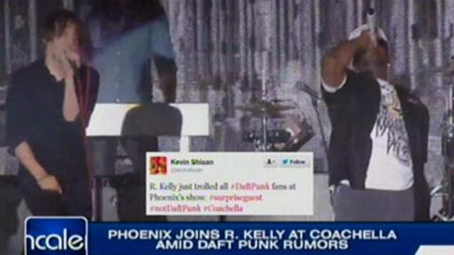 Phoenix joins R. Kelly aCoachella amid Daft Punk rumors