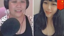Glitch outs 'young' Chinese live-streamer as 58yo auntie