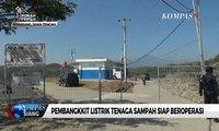 Pembangkkit Listrik Tenaga Sampah Siap Beroperasi di TPA Jatibarang