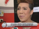 Vice Ganda raises alarm over pirated concert video