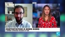 La menace à peine voilée de Pékin après deux mois de contestation à Hong Kong