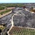 Les images aériennes du Gard, après l'incendie