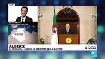 Algérie : le président par intérim limoge le ministre de la Justice
