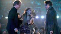 Ariana Grande left sppechless after working with idol Jim Carrey