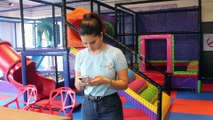 Bollywood Actress Sunny Leone at Her New Venture D'art Fusion - Art and Play Centre