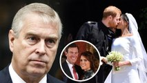 Prince Andrew Is Unhappy Princess Eugenie's Wedding Not On TV like Meghan Markle - Prince Harry'