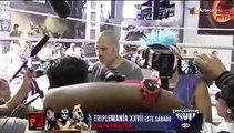 Entrenamiento abierto de Cain Velázquez.  | Azteca Deportes