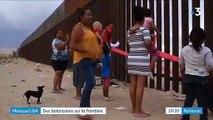 Deux professeurs californiens installent des balançoires entre les barrières qui séparent le Mexique et les États-Unis