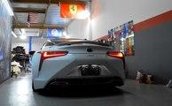 VÍDEO: Lexus LC500 con escapes modificados... ¡qué pasada de sonido!