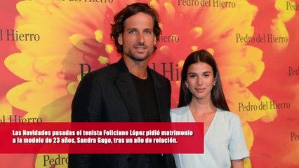 Lo que no sabes de la boda de Feliciano López y Sandra Gago