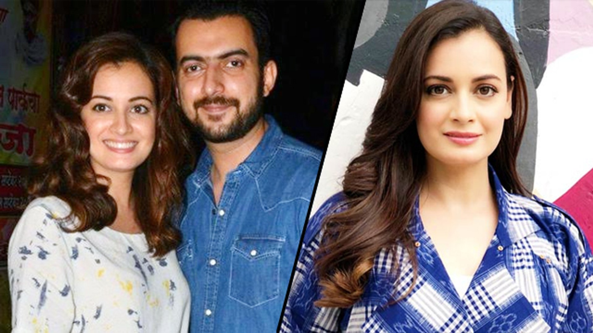 Dia Mirza ENDS Her Marriage With Sahil Sangha