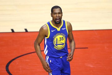 Kevin Durant Becomes No. 7 With Nets