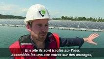 A Piolenc, la première centrale solaire flottante de France