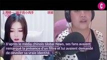 Une influenceuse chinoise transformait son visage à l'aide d'un filtre beauté