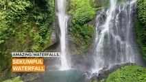 Amazing Waterfalls: The Most Beautiful Waterfall in Bali