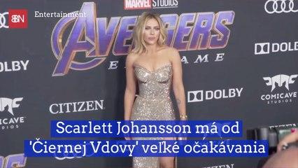 Scarlett Johansson má od 'Čiernej Vdovy' veľké očakávania