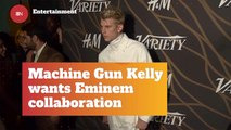 Will MGK Collab With Eminem