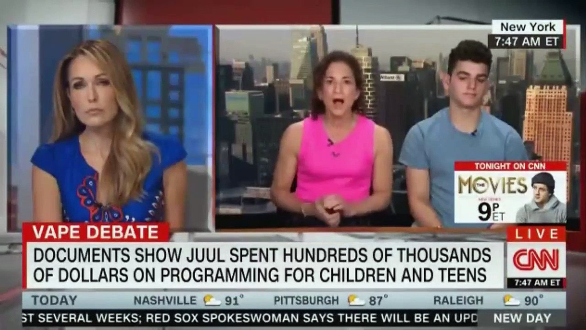 DOCUMENTS SHOW JUUL SPENT HUNDREDS OF THOUSANDS OF DOLLARS ON PROGRAMMING FOR CHILDREN AND TEENS. CN