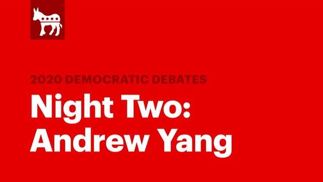 Winners of the Second Democratic Debate: Andrew Yang | RS News 8/1/19