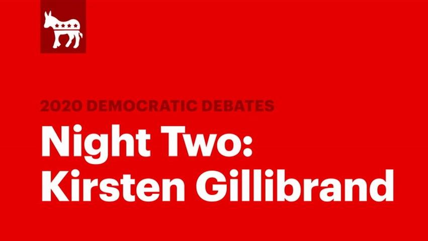 Winners of the Second Democratic Debate: Kirsten Gillibrand | RS News 8/1/19