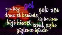 Melih Aydogan Ft. Tugce Guder - Dans Et (Official Lyric Video)