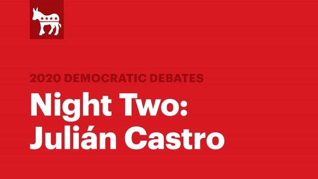 The Second Democratic Debate: Julián Castro | RS News 8/1/19