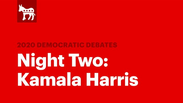The Second Democratic Debate: Kamala Harris | RS News 8/1/19