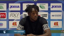 Avant HAC - Niort, interview de Tino Kadewere