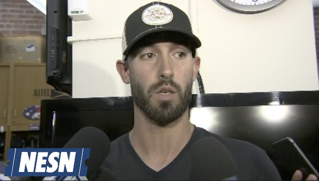 Rick Porcello Apologizes For Breaking TVs In Red Sox Dugout
