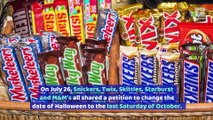 Snickers Wants to Change the Date of Halloween