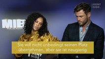 Tessa Thompson und Chris Hemsworth im Paar-Interview