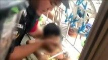 Rescatado un niño de 6 años en China tras 6 horas atrapado entre las rejas del balcón de su casa